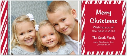 2012 Personalized Christmas Photo Cards From Tiny Prints