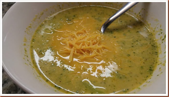Broccoli Chicken Cheese Soup