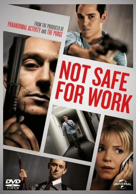 Poster Of Not Safe for Work (2014) Full Movie Hindi Dubbed Free Download Watch Online At Alldownloads4u.Com