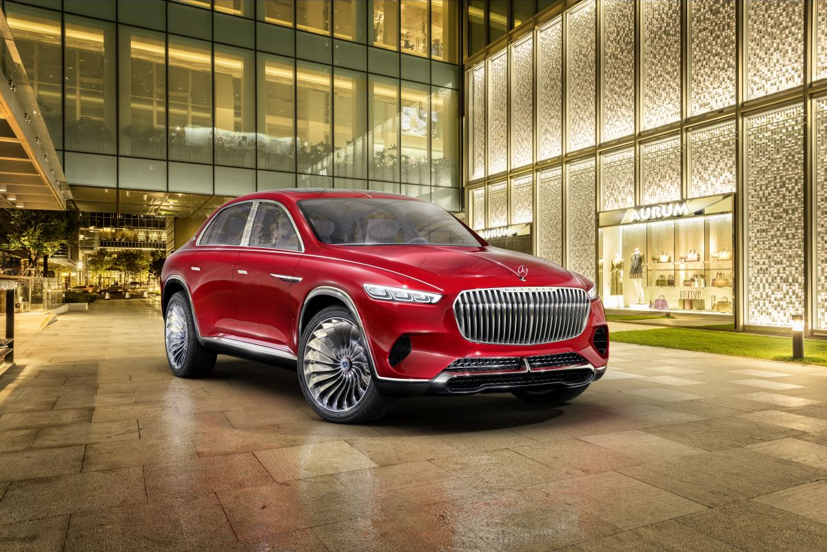 Mercedes-Benz - Vision Mercedes-Maybach Ultimate Luxury ...