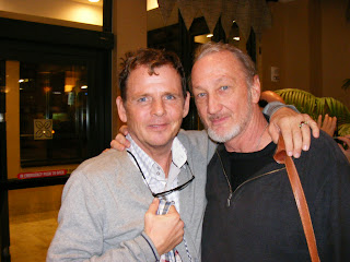 With Mark Patton star of Nightmare on Elm St 2.