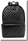 MZ Wallace Quilted Shell Backpack
