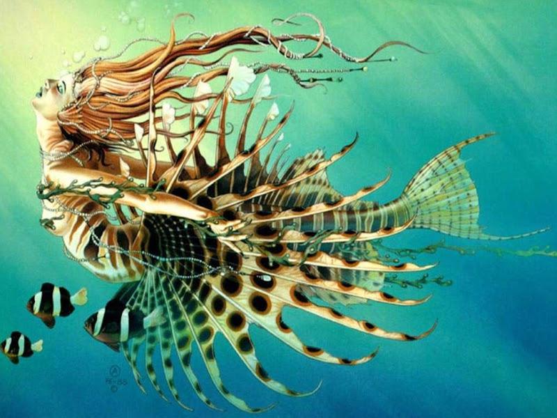 Mermaid Fantasy, Mermaids