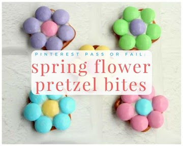 Pinterest Pass Or Fail: Spring Flower Pretzel Bites Recipe
