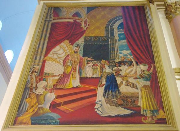 Meeting, King Solomon