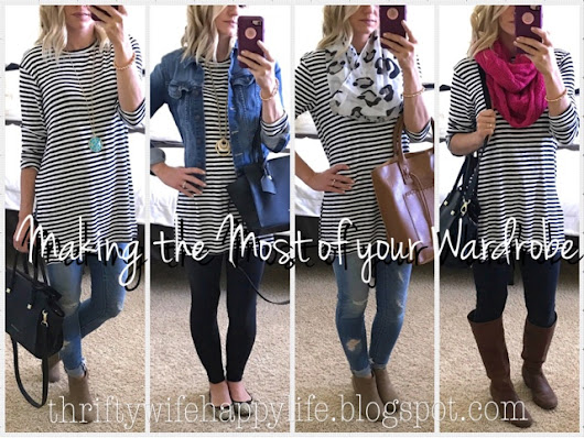 Making the Most of your Wardrobe- Stripe Tunic