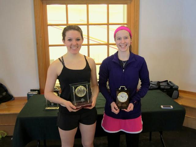 Mass Junior Championships, Jan 3-5, 2014  GU 19: Champion - Kira Keating - Chevy Chase, MD); Finalist - Jillian Davey (West Hartford, CT)