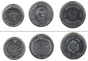 Mata uang taka negara Bangladesh dari sejarah, gambar, dan kurs