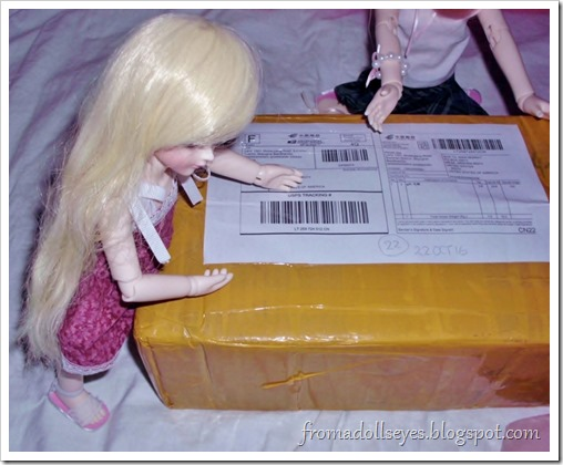 Doll Love ball jointed doll unboxing.