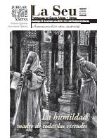 Hoja Parroquial Nº523 - La humildad, madre de todas las virtudes. Iglesia Colegial Basílica de Santa María de Xàtiva - Sexto aniversario de la erección de la colegiata.
