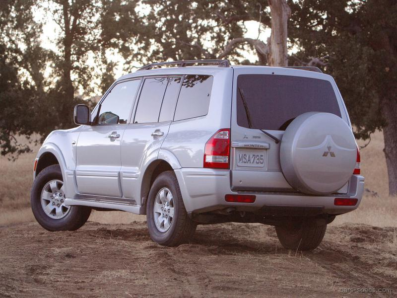 2005 Mitsubishi Montero Suv Specifications Pictures Prices