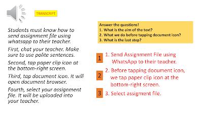 Contoh Procedure Text Inggris SMK