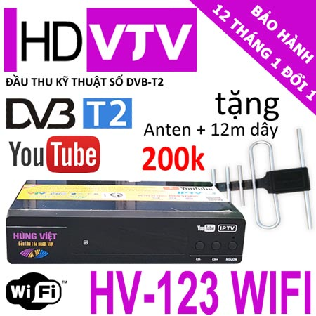 dau thu dvb t2 wifi hung viet 123 internet