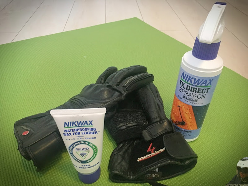 Loss of water resistance in Gore-tex rider gear and how to restore