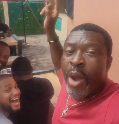 """Obi Cubana's mum's burial: """"If you are in Lagos and Asaba and your girlfriend tells you she is going for the weekend, she is in Oba"""" - Actor Kanayao O. Kanayo alerts men"""