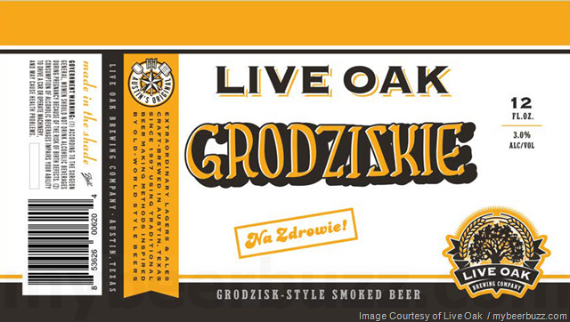 Live Oak Brewing - Grodziskie Cans