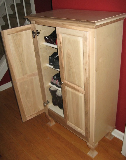 Vizu Home Wood Shoe Cabinet