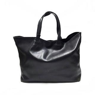 Yohji Yamamoto Leather Tote Bag