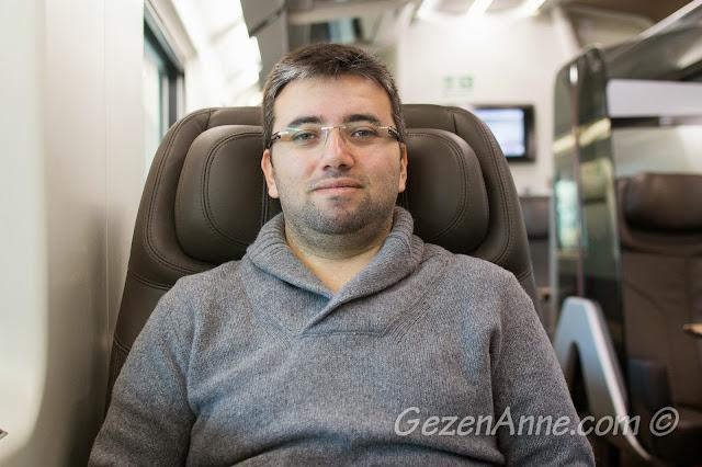 business class yolculuk, İtalya hızlı trenler