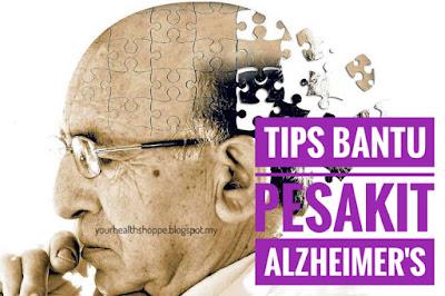 tips untuk pesakit nyanyuk