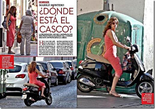 Fotos de Mariló Montero en la revista Corazón TV