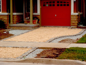 Photo: Santa Fe Cream Shale made this a lovely permeable driveway.