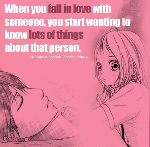 Love Quotes Anime