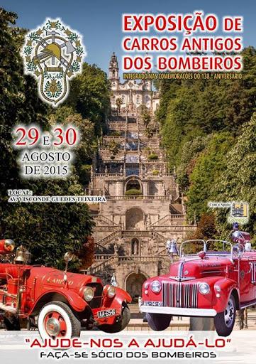 Exposição de carros antigos dos bombeiros - Lamego - 29 e 30 de Agosto