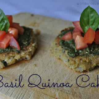 Basil Quinoa Cakes.