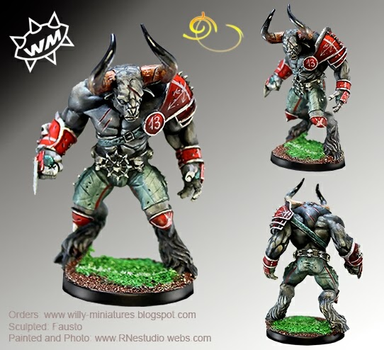 Minotauro Willy Blood Bowl