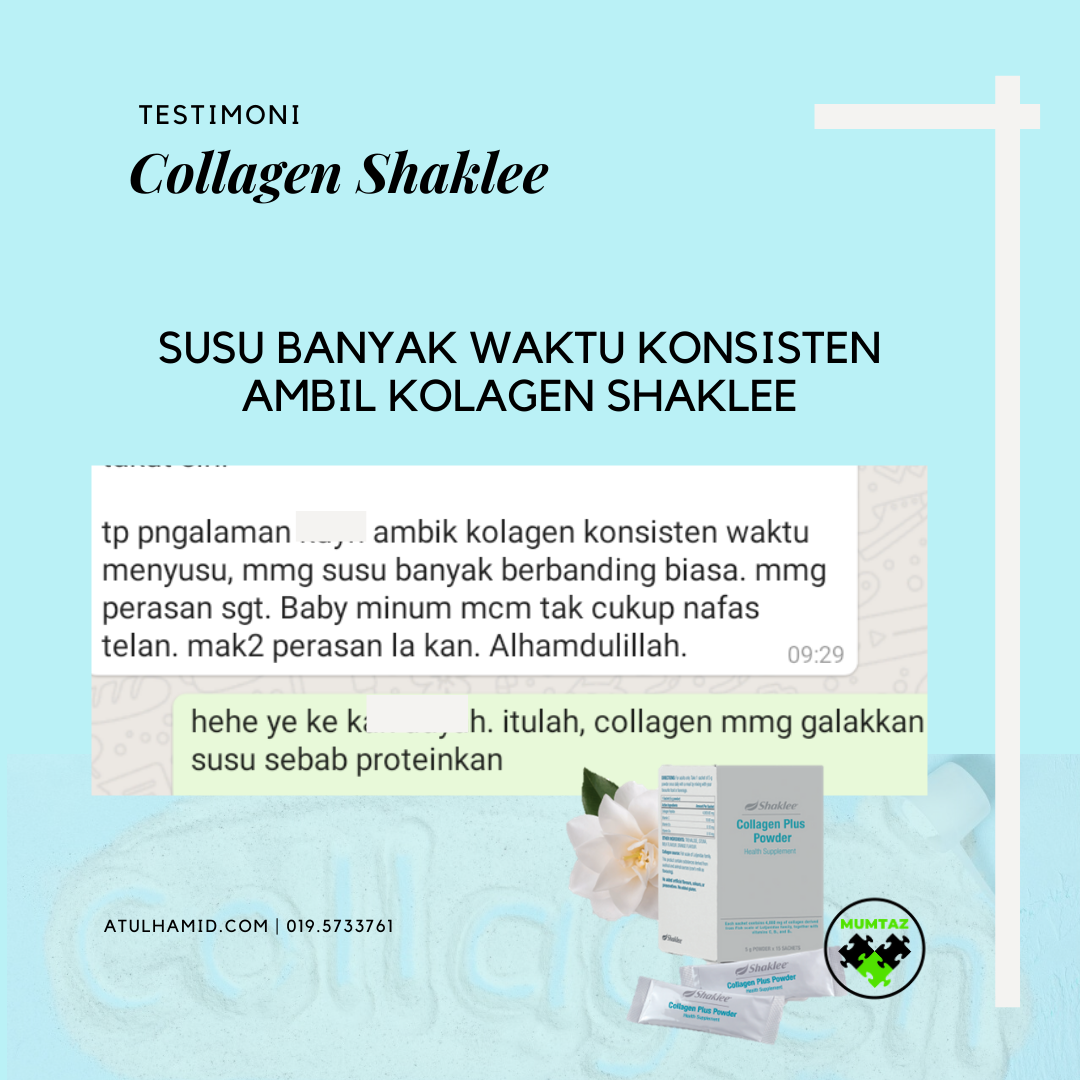 Soalan Lazim Collagen Shaklee | FAQ Collagen Shaklee
