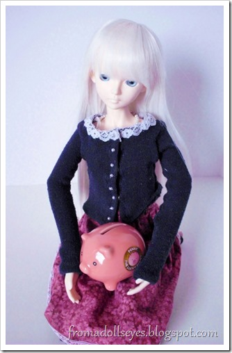 If you give a doll a piggy bank, do you have to give them money too?