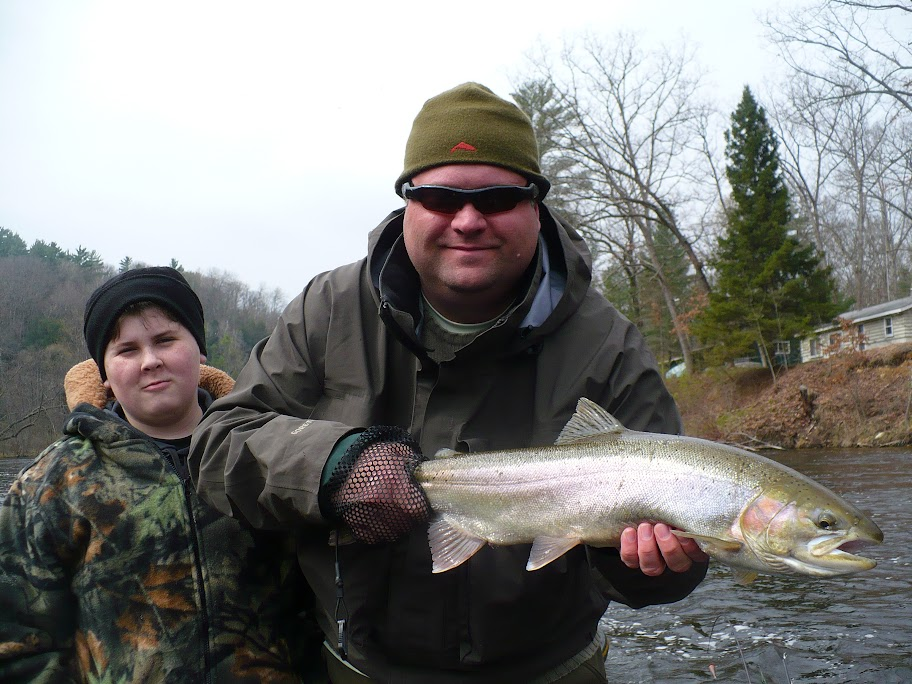 Float Fishing on the Muskegon River for Steelhead