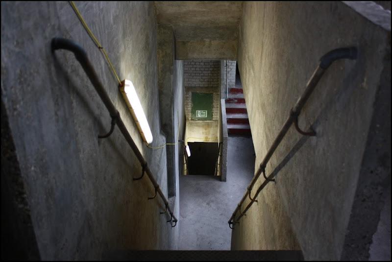 Stairs down - Millennium Mills