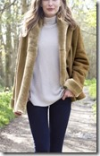 Celtic & Co Shawl Collar Merino Sheepskin Coat