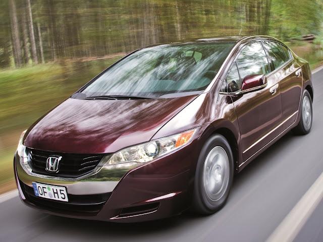 Honda FCX Clarity (wodór, ogniwa paliwowe, h2, hho)