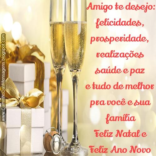 Caminho Das Mensagens Amigo Ano Novo Natal 1308