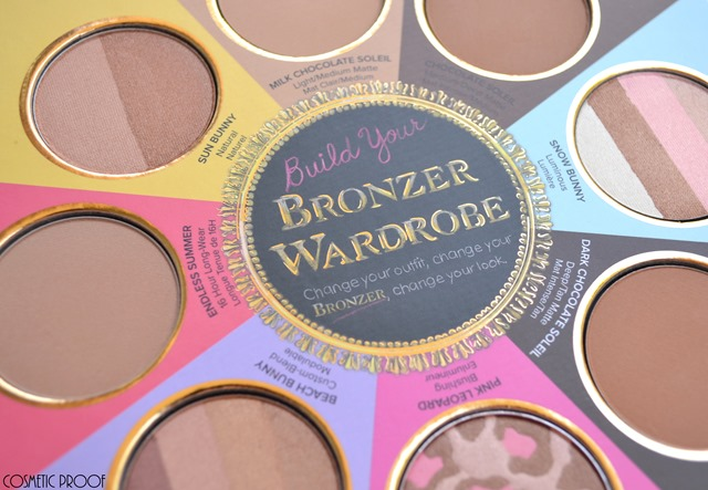 Too Faced The Little Black Book of Bronzers Review Swatches (5)
