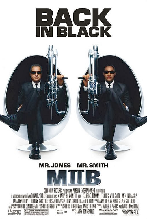 Poster Of Men in Black 2 (2002) Full Movie Hindi Dubbed Free Download Watch Online At Alldownloads4u.Com