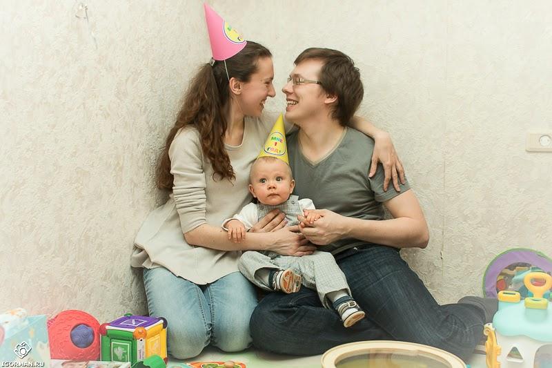 первый день рождения ребенка фотосессия
