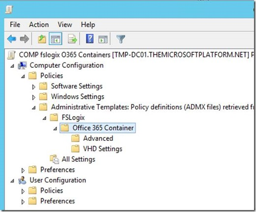 Fix Office365 performance issues with FSLogix Office 365 Containers