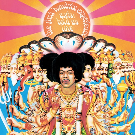 1967 - Axis bold as love - Jimi Hendrix