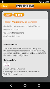 Protaj Engineers Jobs- screenshot thumbnail