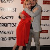 OIC - ENTSIMAGES.COM - Barbra Crampton and Abner Pastoll at the Film4 Frightfest on Sunday    of  Road Games  UK Film Premiere at the Vue West End in London on the 30th August 2015. Photo Mobis Photos/OIC 0203 174 1069