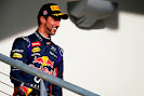 Daniel Ricciardo on the podium again
