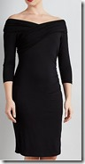 Bruce by Bruce Oldfield Off the Shoulder Wrap Dress