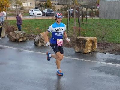 Marathon Beaujolais, en course