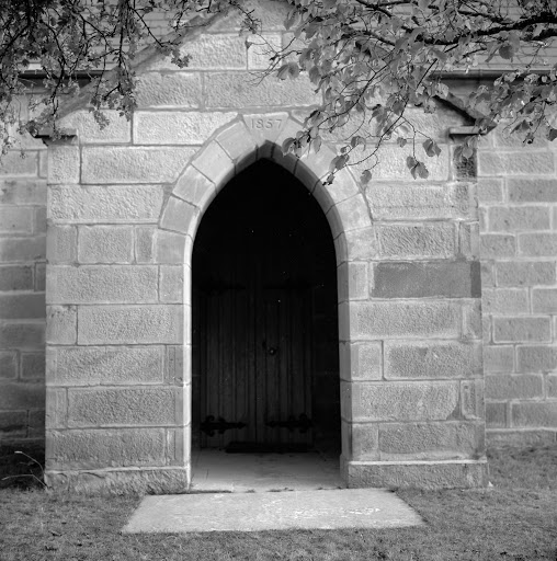 Doorway to Anglican Church of St James, Montacute