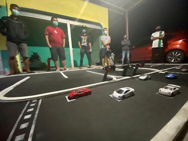 Hilangkan Kejenuhan, Pemuda Palangka Raya Bentuk Komunitas Mini RC Car