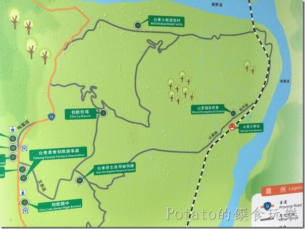 山里車站位置圖